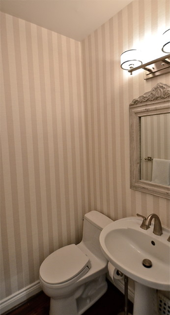 Toronto Powder Room traditional-bathroom