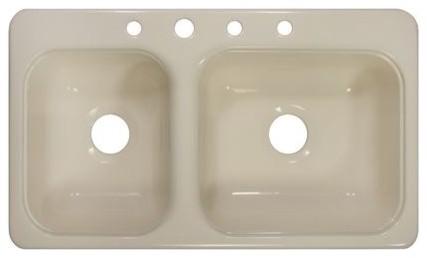 "Deluxe 33"" x 19"" Kitchen Sink modern-bath-products"