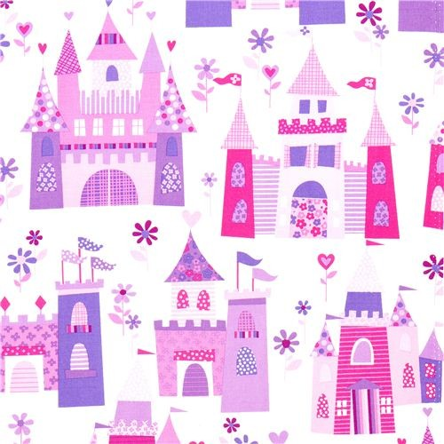 Michael Miller Fabric Fairy Tale Castle Princess