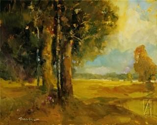 Twin Oaks by Ted Goerschner - Transitional - Artwork ...