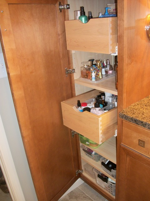 Bathroom Remodel Akron Oh 1 Traditional Bathroom Storage Cleveland By Cabinet S Top