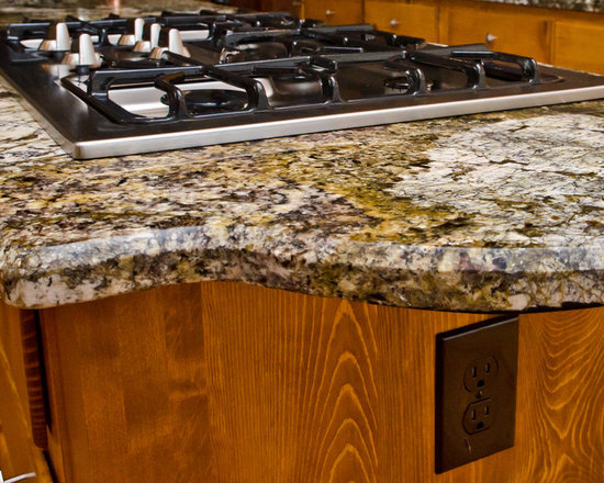 Granite edge profiles for 1 inch granite countertops