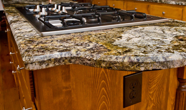 Countertop Beveled Edge : Granite Edge: 1/2