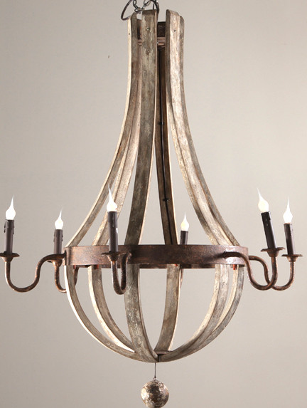 chandelier (6-Arm Chandelier) - traditional - outdoor lighting ...