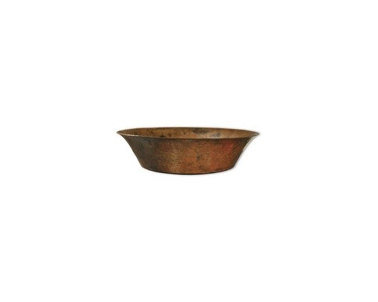 "Maestro Bajo in Tempered - Maestro Bajo in Tempered Full Specifications - 15 gauge hammered copper. 1.5 In. drain. IAPMO listed / cUPC certified. Post-consumer recycled copper. Width: 16 1/4"" Height: 4 3/4"" Finish: Tempered Copper"