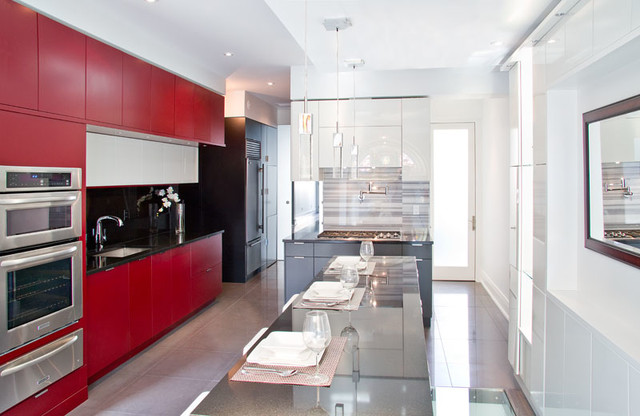 Manhattan painted modern-kitchen-cabinets