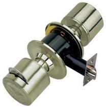 Stainless Steel Keyed Entry Door Knob Ball Lock - Modern - Windows And ...