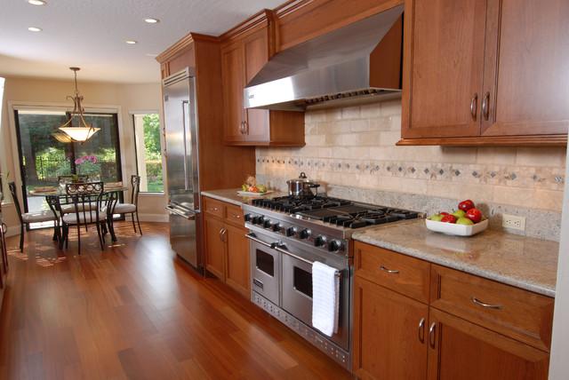 Whispering Oaks kitchen contemporary-kitchen