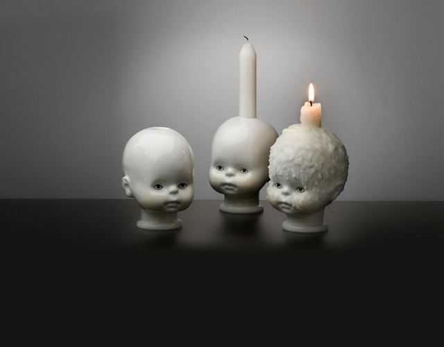 Little Joseph eclectic candles and candle holders