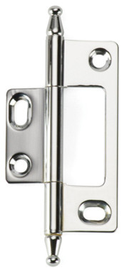 BH3A-NM-PC solid brass inset cabinet hinge traditional-hinges