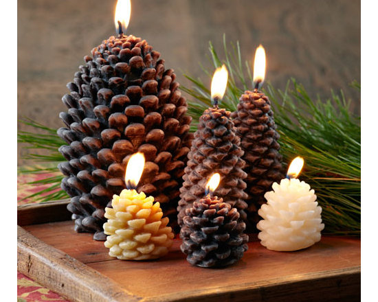 Pinecone Candle Collection -