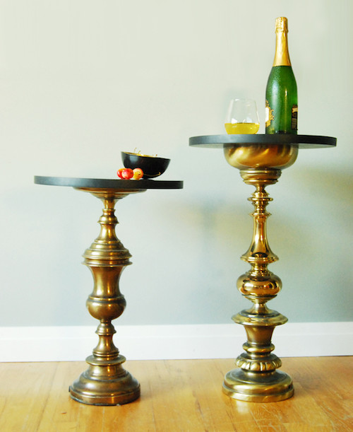 Alphabrass Side Table eclectic-side-tables-and-end-tables