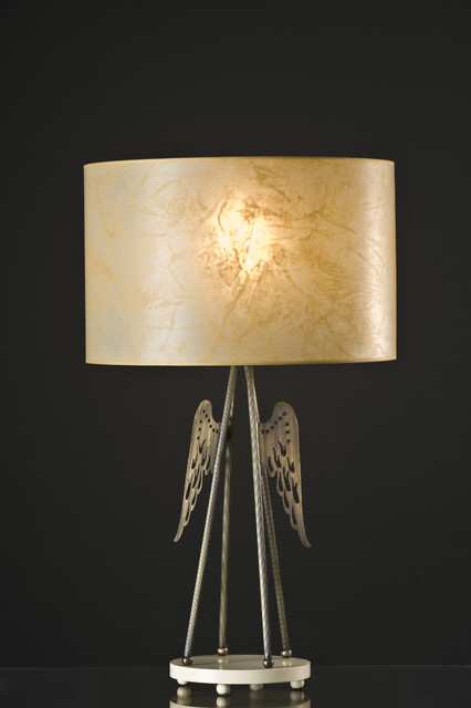 Anna Fresko - Angel Lampshade eclectic-lighting