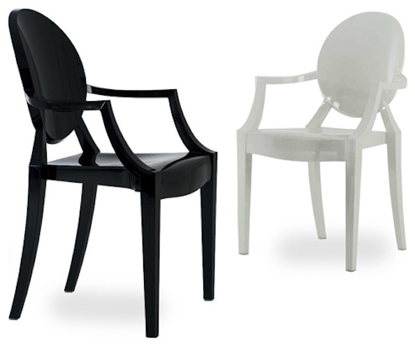 Louis ghost armchair hive modern contemporary dining chairs by