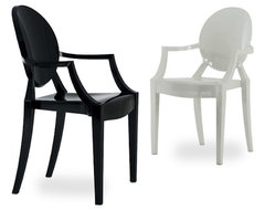 Louis Ghost Armchair | Hive Modern modern-dining-chairs