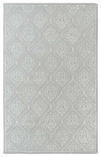 Surya Modern Classics CAN-1907 (Pale Blue) 8' x 11' Rug contemporary-area-rugs