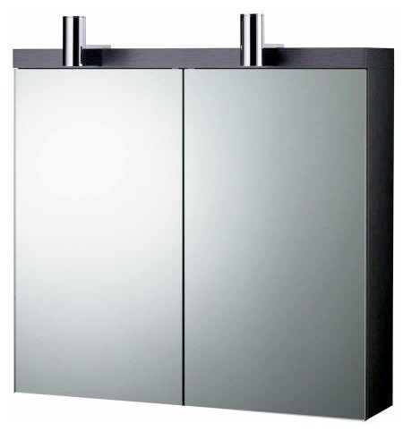 ideal standard daylight mirrored wall cabinet with lights 700mm