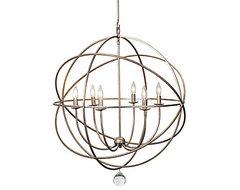 Eclipse Chandelier modern-chandeliers