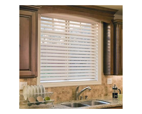 """Norman Ultimate 2 1/2"""" Faux Wood Blinds - The NEW Ultimate 2 1/2"""" Fauxwood Blind comes standard with non-slip the patented SmartPrivacy slats for perfect privacy and slat closure."""