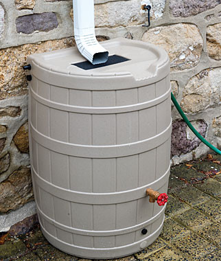 SpringSaver Rainbarrel traditional irrigation equipment
