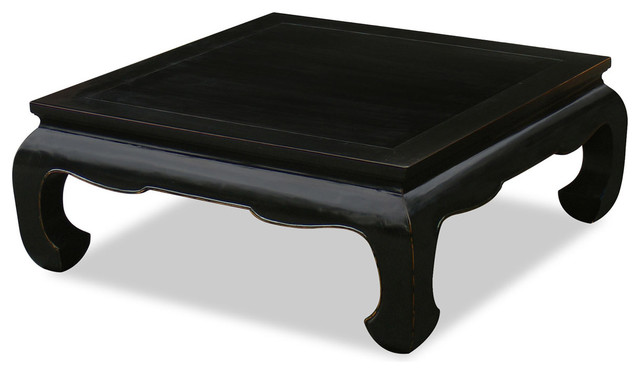 Elmwood Ming Chow-Leg Coffee Table asian-coffee-tables