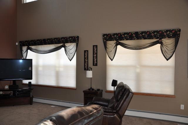 Hansen Residence Traditional Cellular Shades Denver