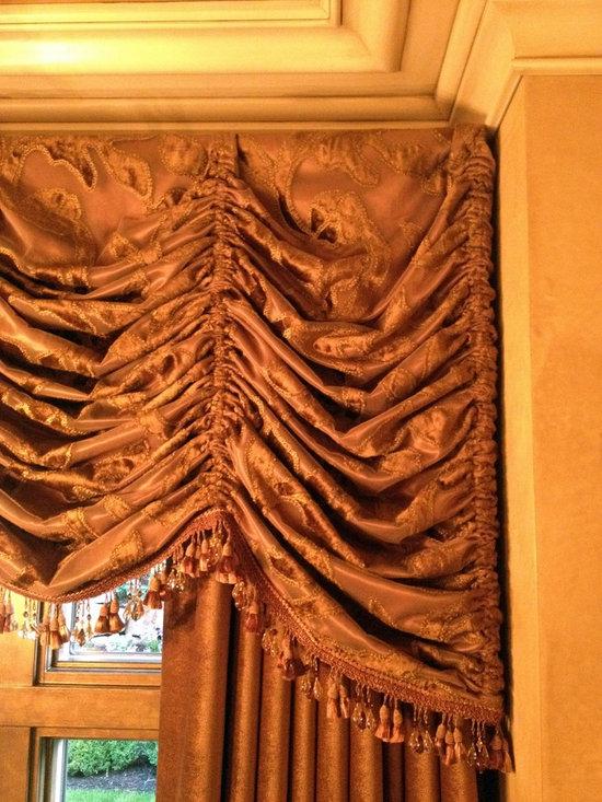 Drapery Panel with Valance -