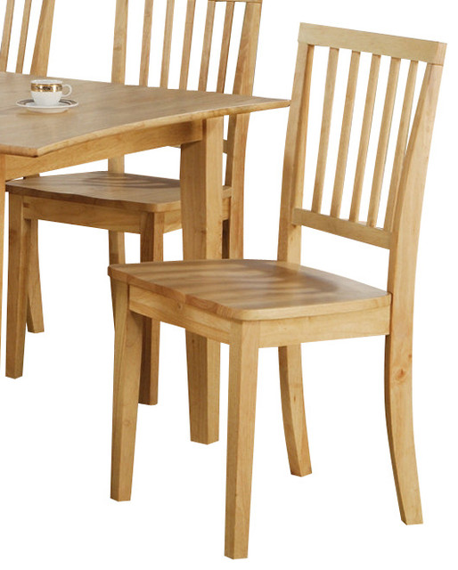 Steve Silver Branson Side Chair In Light Wood Traditional Dining Chairs By Beyond Stores