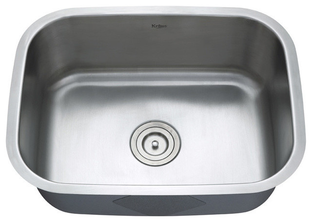 Stainless Steel Sink Counter Combo : ... 16 Gauge Stainless Steel Kitchen Sink Combo Set modern-kitchen-sinks