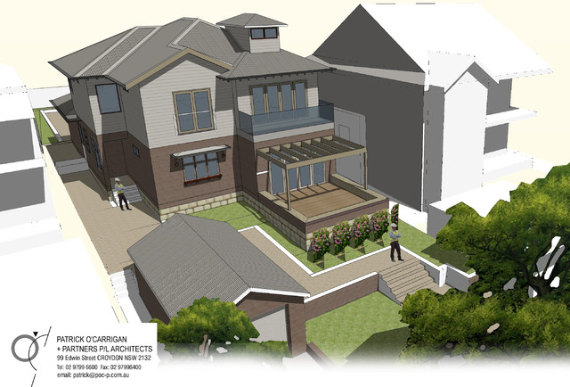 Greenwich Residence contemporary-rendering
