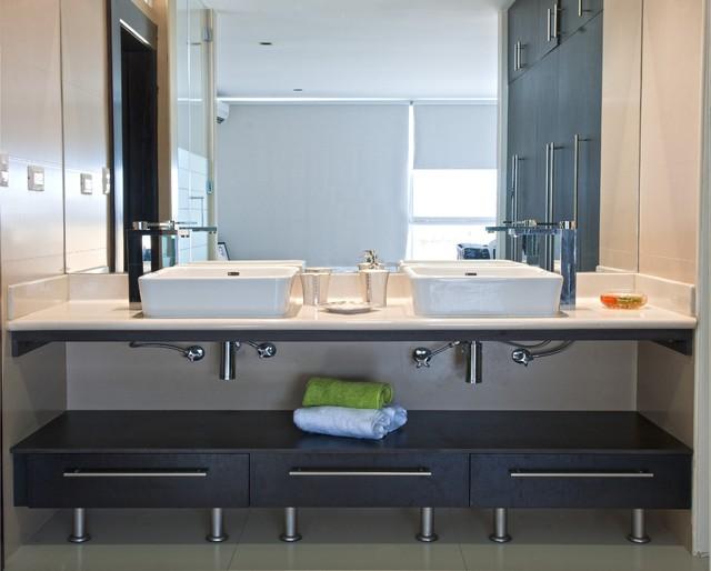 Minimalist Bathroom bathroom-cabinets-and-shelves