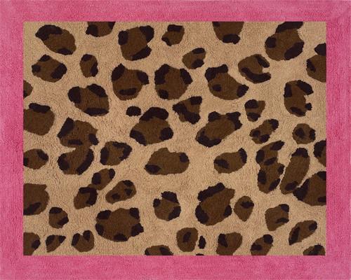 Pink Cheetah Accent Floor Rug by Sweet Jojo Designs traditional-rugs