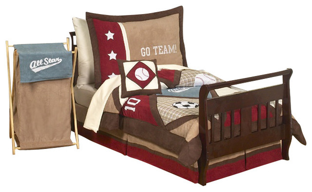 All Star Sports 5-Piece Toddler Bedding Set contemporary-kids-bedding