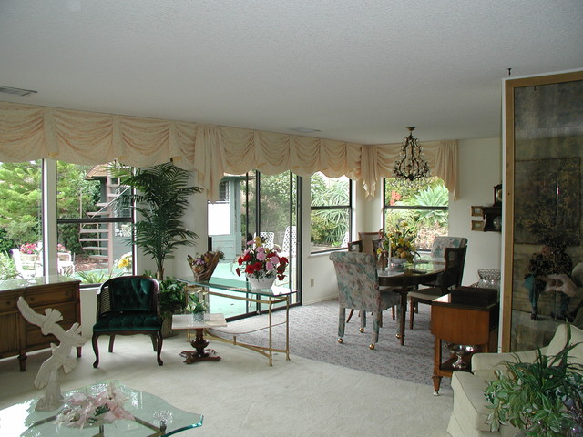 Valance Treatments eclectic