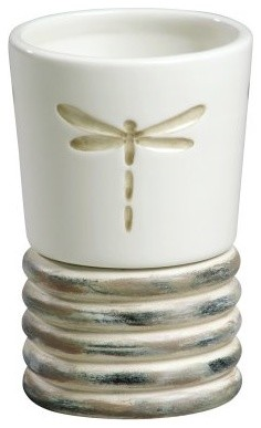 Creative Bath Products Dragonfly Tumbler modern-bath-and-spa-accessories