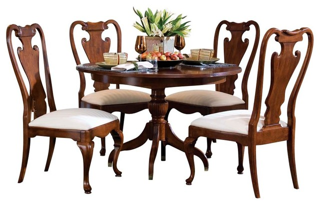 american drew cherry grove 5 piece dining room set in