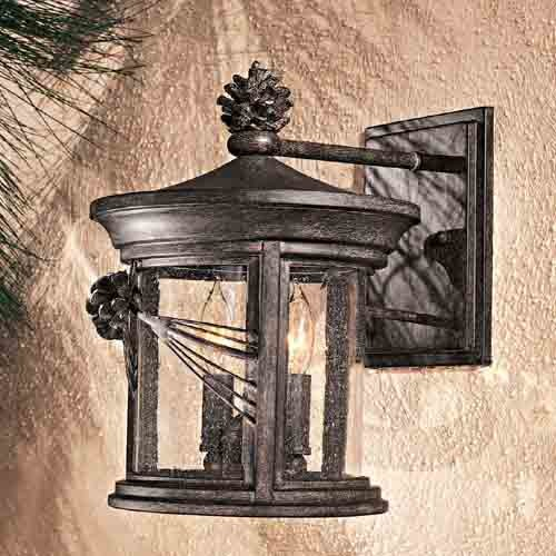 Abbey Lane Outdoor Wall-Mounted Lantern traditional-outdoor-lighting