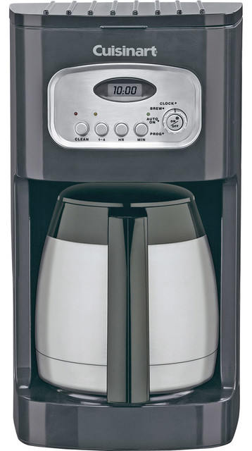 Cuisinart Coffee Maker Kettle : Cuisinart 10-Cup Programmable Thermal Coffeemaker - Contemporary - Coffee Makers And Tea Kettles ...