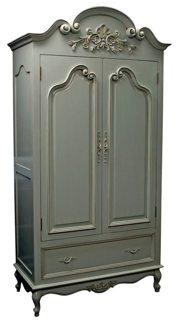 country french armoire - modern - dressers chests and