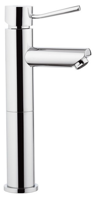 Round Single Handle Bathroom Sink Faucet contemporary-bathroom-sink-faucets