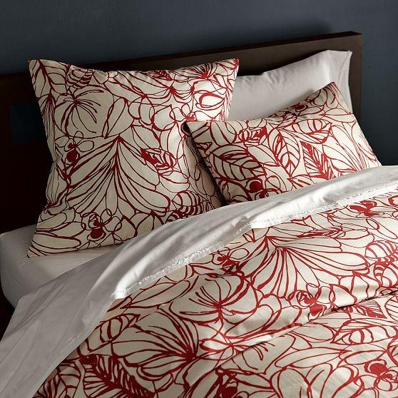 Sketch Duvet Cover + Shams modern-bedding
