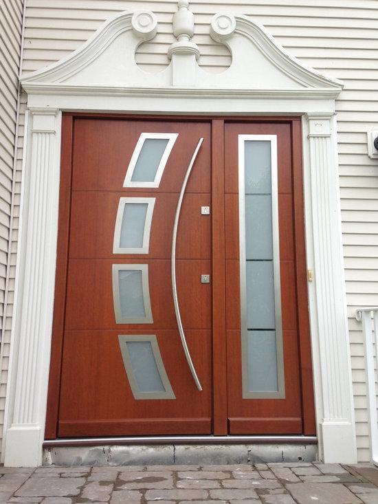 Modern Exterior Doors / Contemporary Exterior Doors - Liberty Windoors