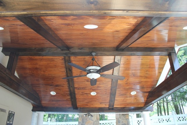Beadboard ceiling - Traditional - new york - by Bencar Building Systems, LLC