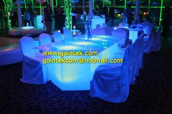 beautiful RGB led chair for night club and bar modern-sofas