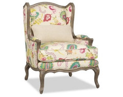 Sam Moore Kelsea Wing Chair - Farina modern-chairs