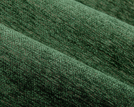 Velvety Diamond Upholstery Fabric in Forest Green - Velvety Diamond Upholstery Fabric in Forest Green & Tan. A soft Cut-Pile Jacquard perfect for upholstering seats, chairs, sofas, and benches, or accent pillows.