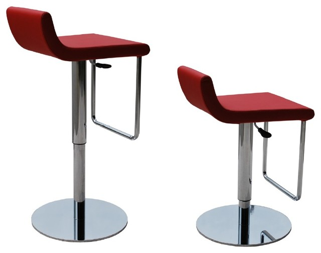 Dublin Piston Swivel Stool By Sohoconcept Contemporary