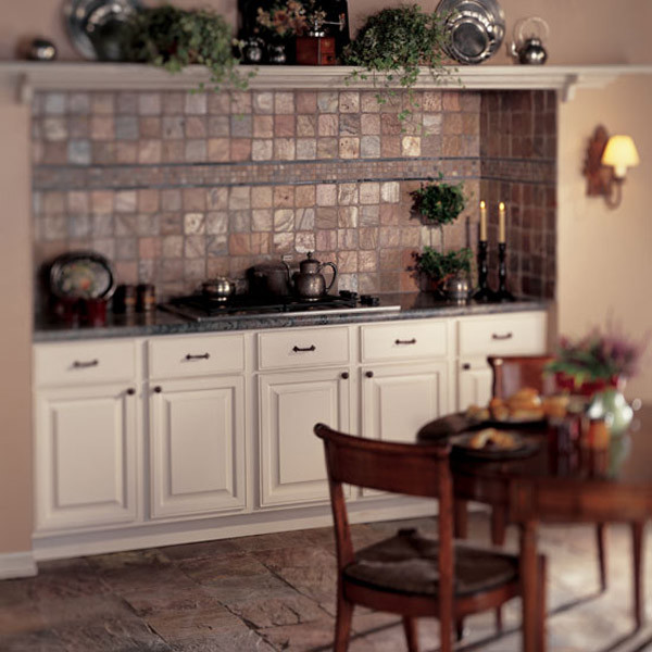 Kitchen Flooring And Backsplash: Wall And Floor Tile