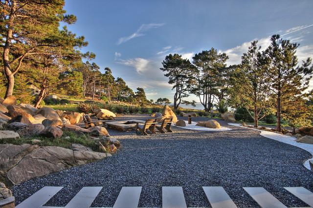 Timber Cove contemporary-patio