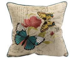 Accessories butterfly pillow pillows